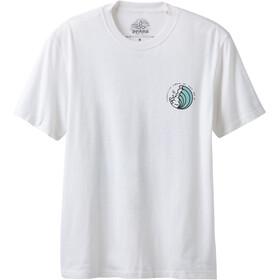 Prana KonaZona - Camiseta manga corta Hombre - blanco
